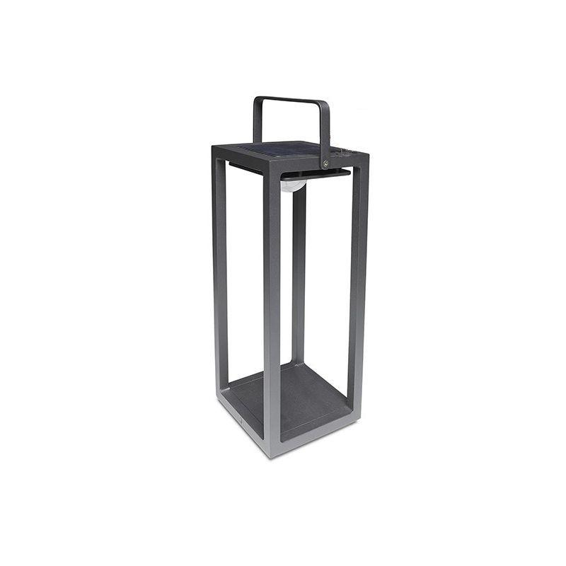 Lampe de jardin 50cm Gris