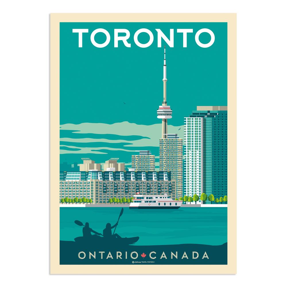 Affiche Toronto  50x70 cm