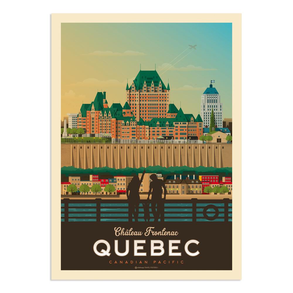Affiche Québec  50x70 cm