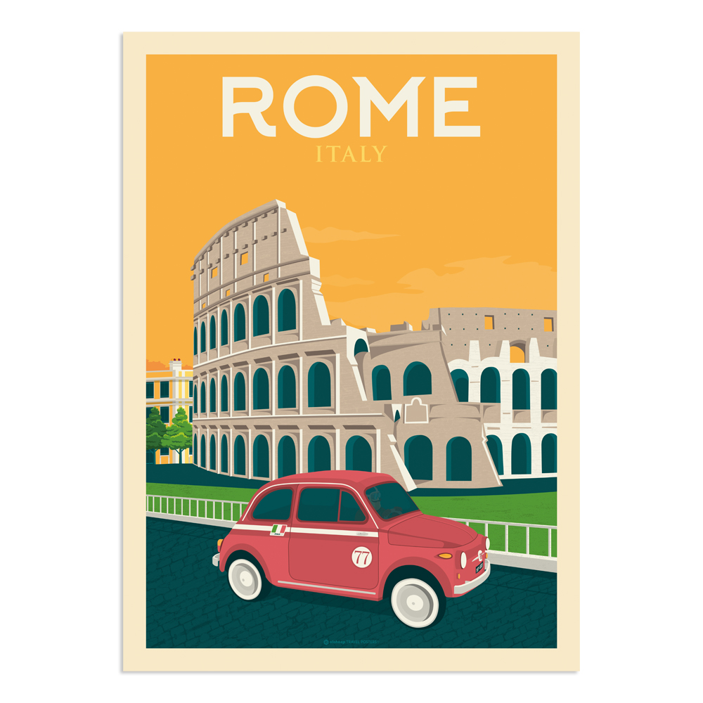 Affiche Rome  50x70 cm