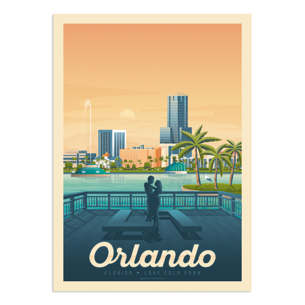 Affiche Orlando 50x70 cm