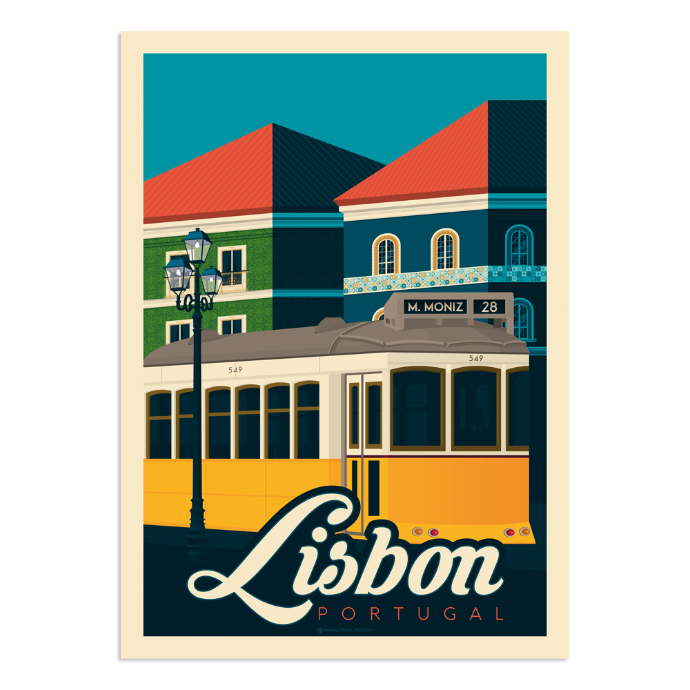 Affiche Boston  50x70 cm