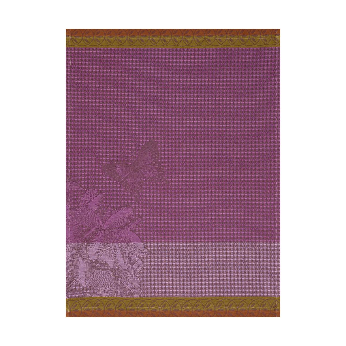 Essuie-mains en coton iris 54 x 38