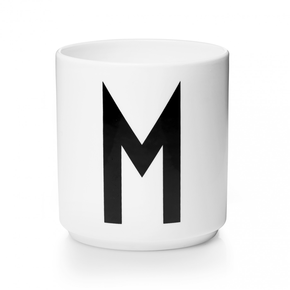 Mug en Porcelaine Blanc Personal A-Z