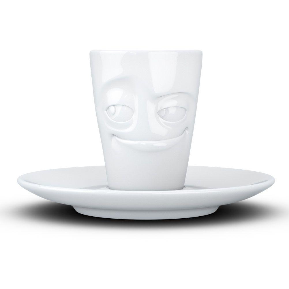 Tasse expresso en porcelaine malicieux 80ml