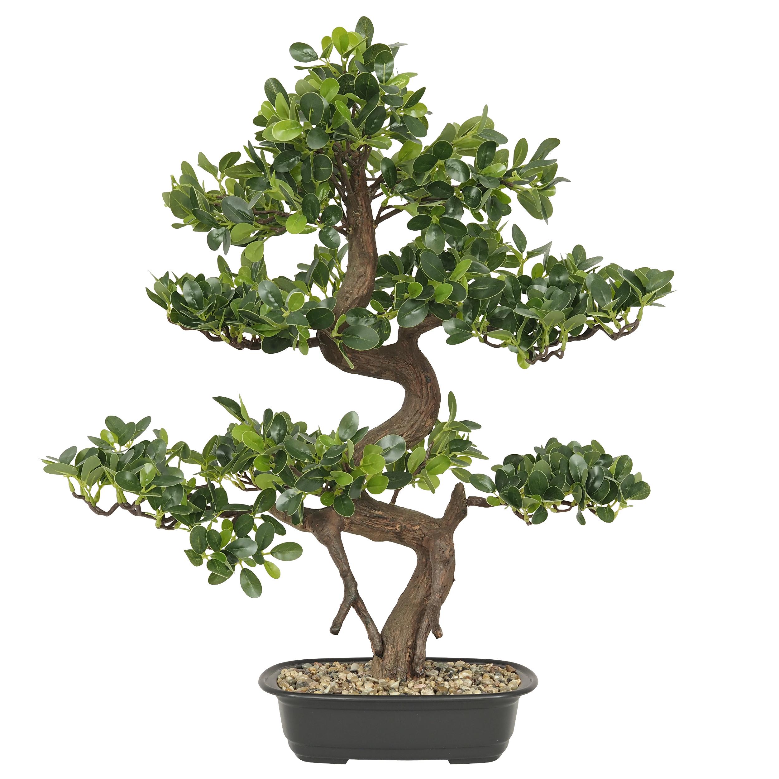 Bonsaï buisson cajeput artificiel 68cm