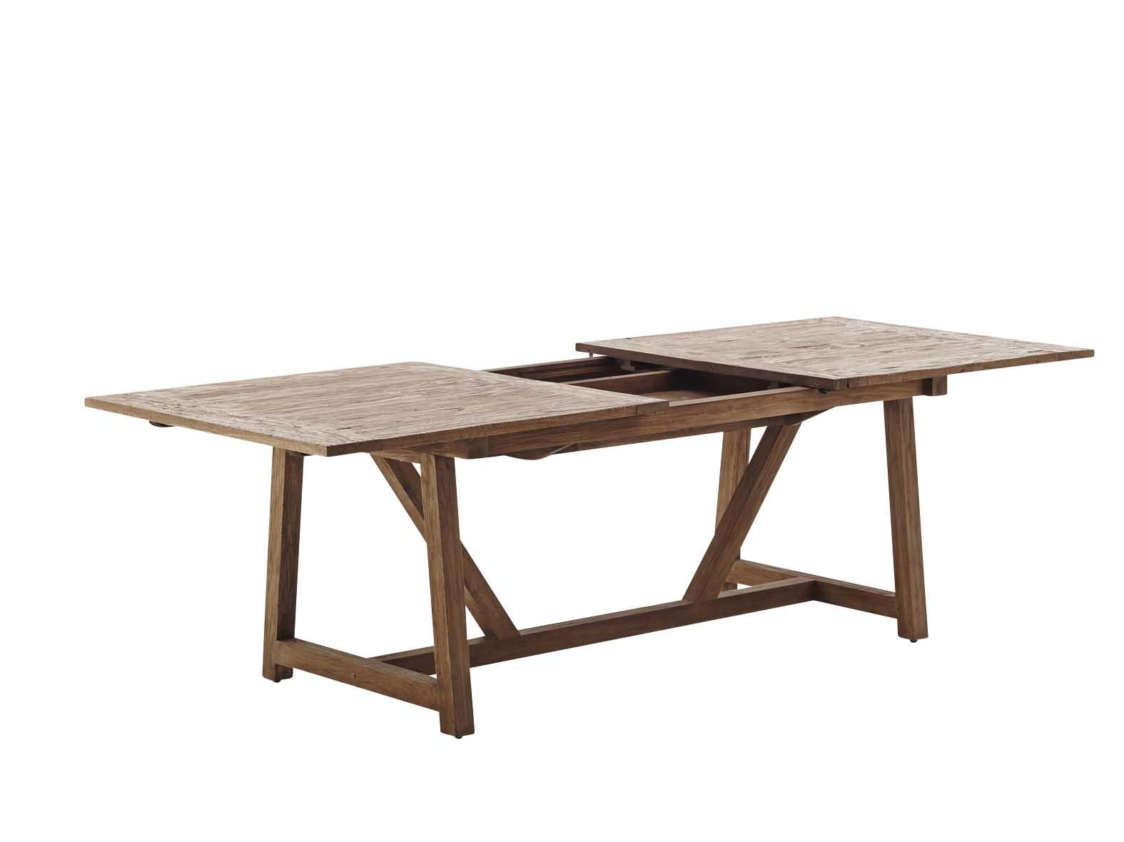 maison du monde Table extensible en teck 200-280cm pour 10/12 personnes