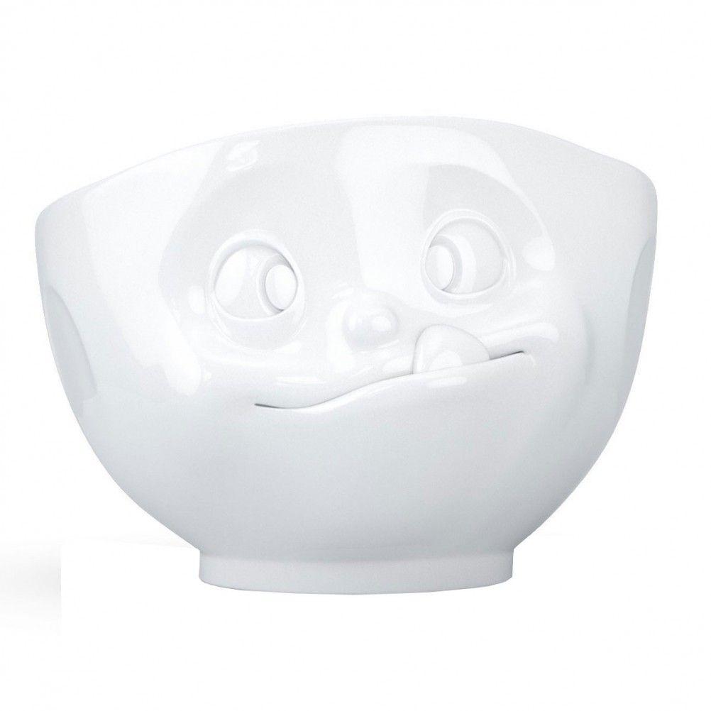 Grand bol en porcelaine gourmand 500ml