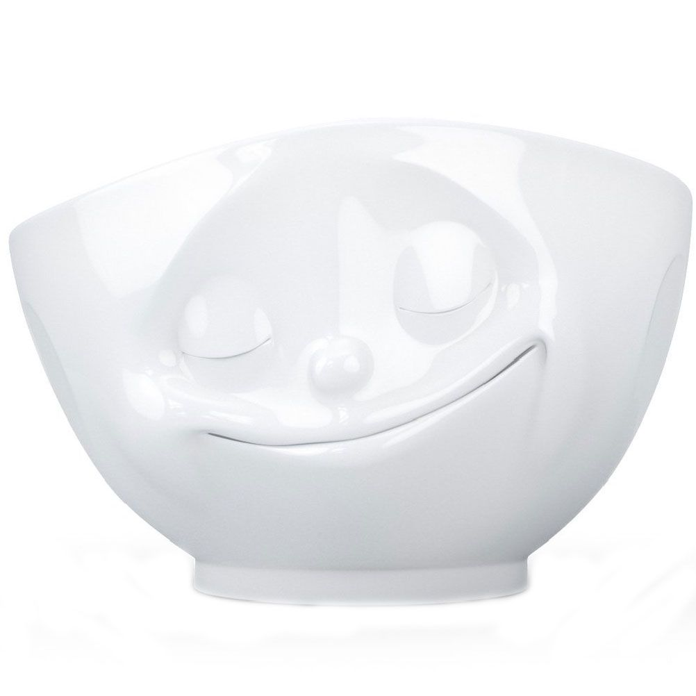 Grand bol en porcelaine heureux 500ml