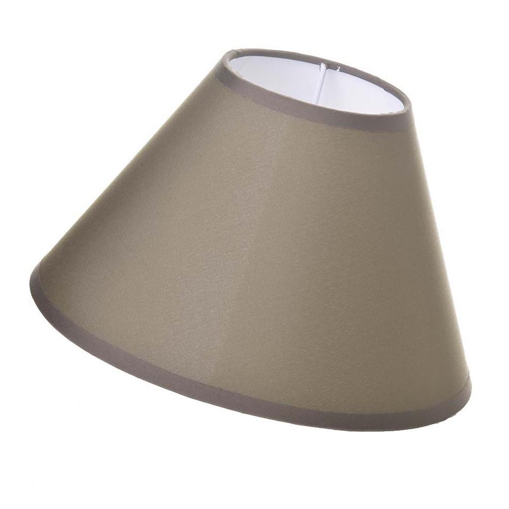 Abat-jour marron D22cm