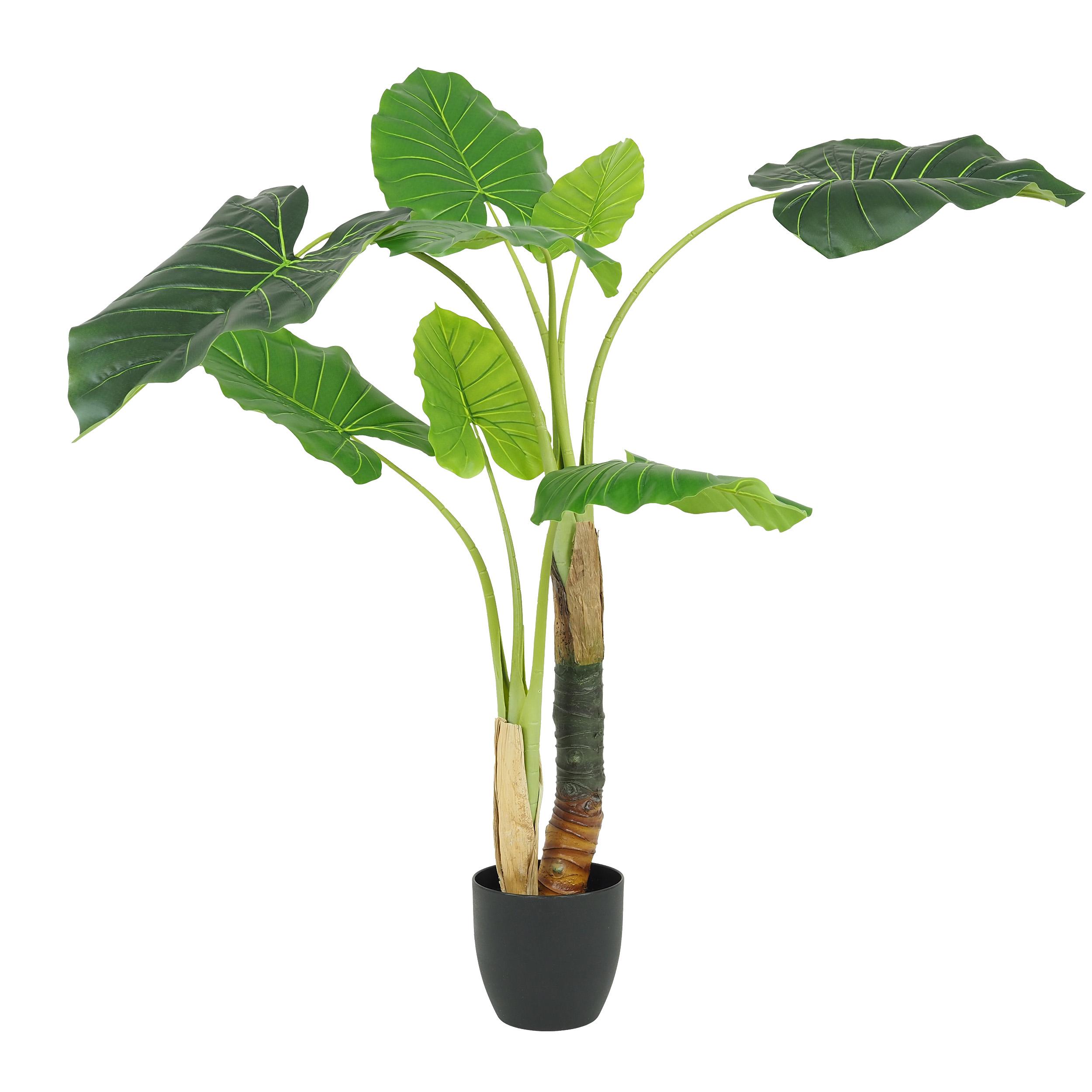 Plante philo alocasia artificielle 120 cm effet toucher réel\