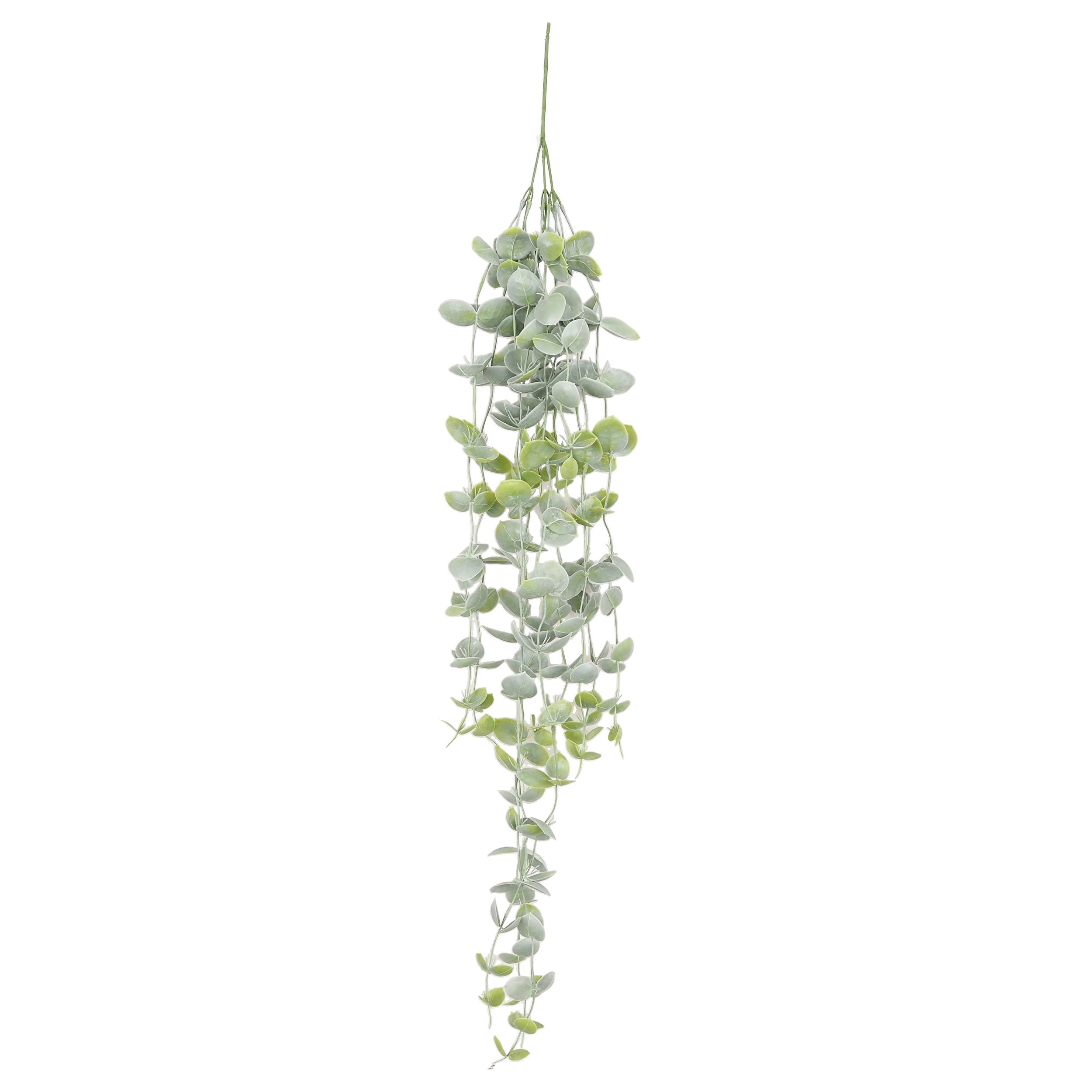 Chute de feuillage d'eucalyptus artificiel