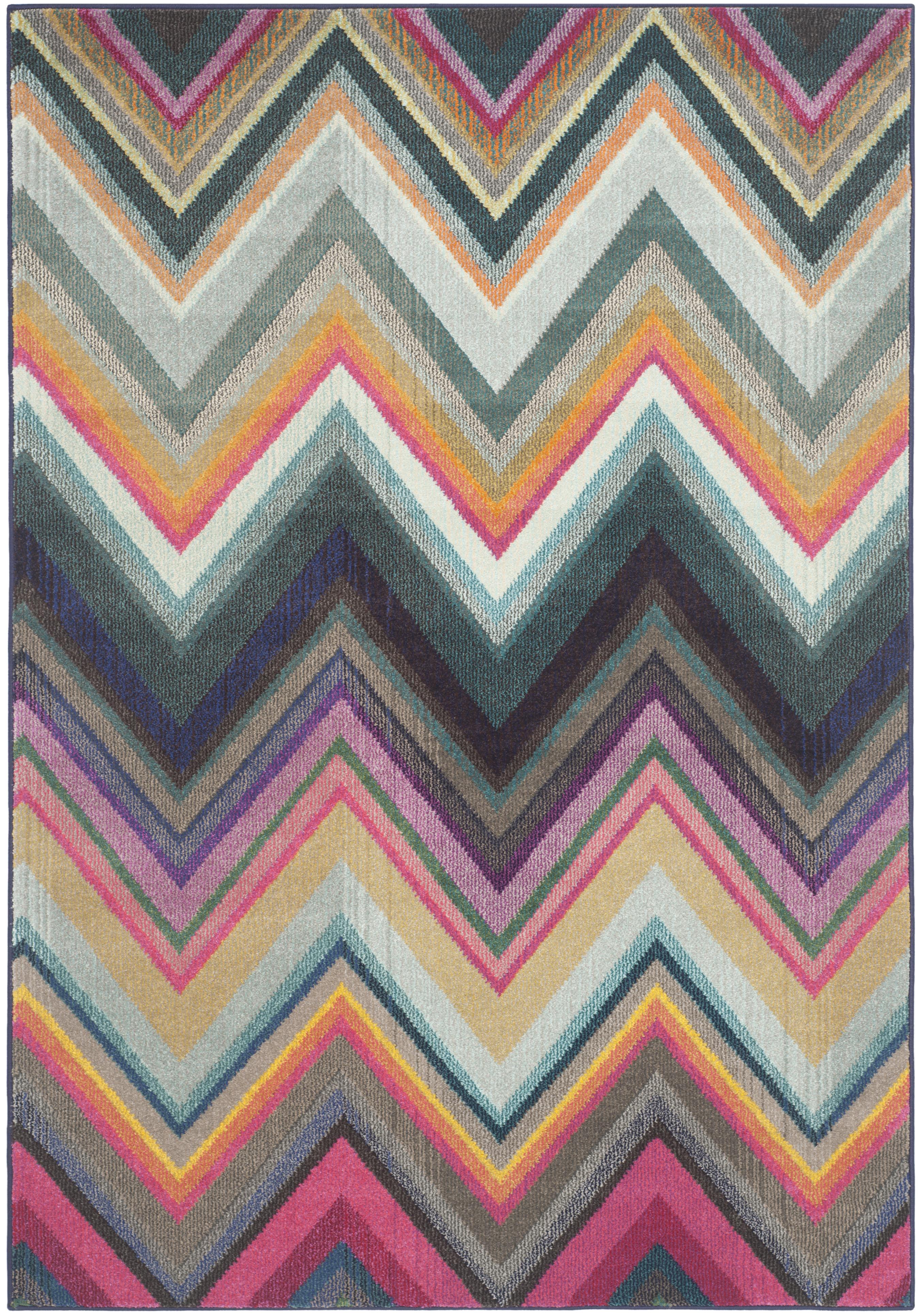 Tapis de salon boho  multicolore 160x230