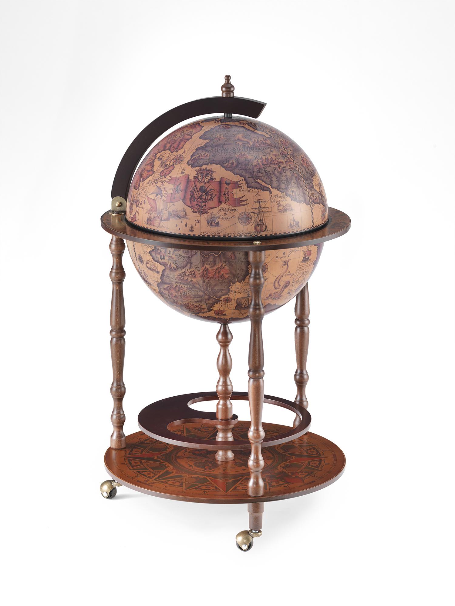 Pegaso Vintage globe bar D42cm