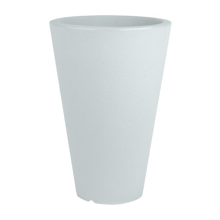 Pot à fleur en résine recyclable bleu provence D40cm