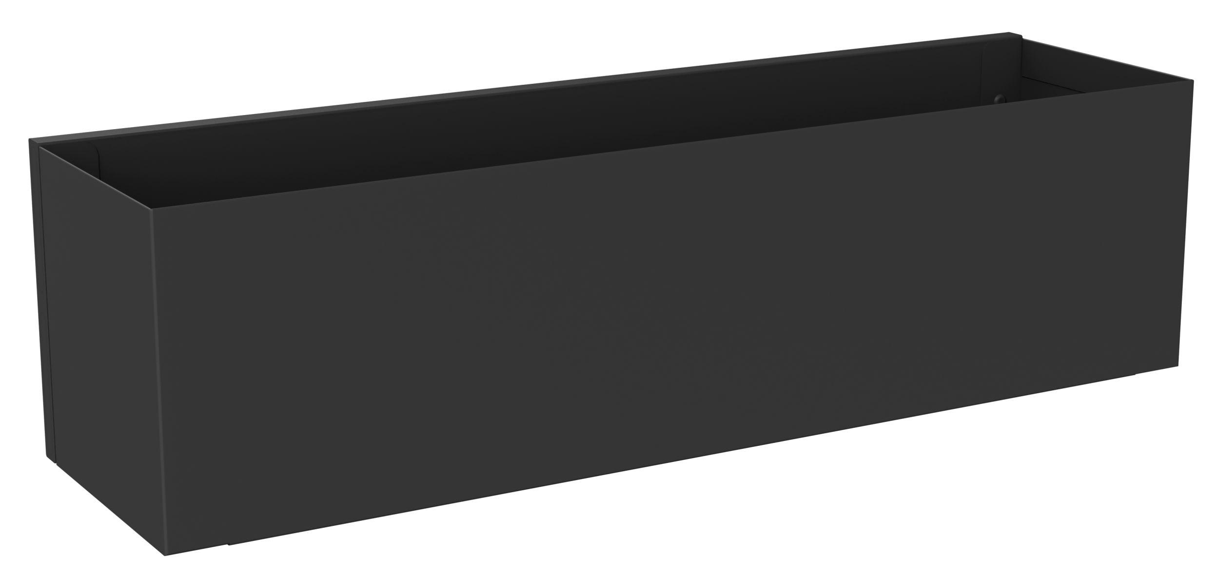 Etagère d'hôtes noire L40cm (photo)