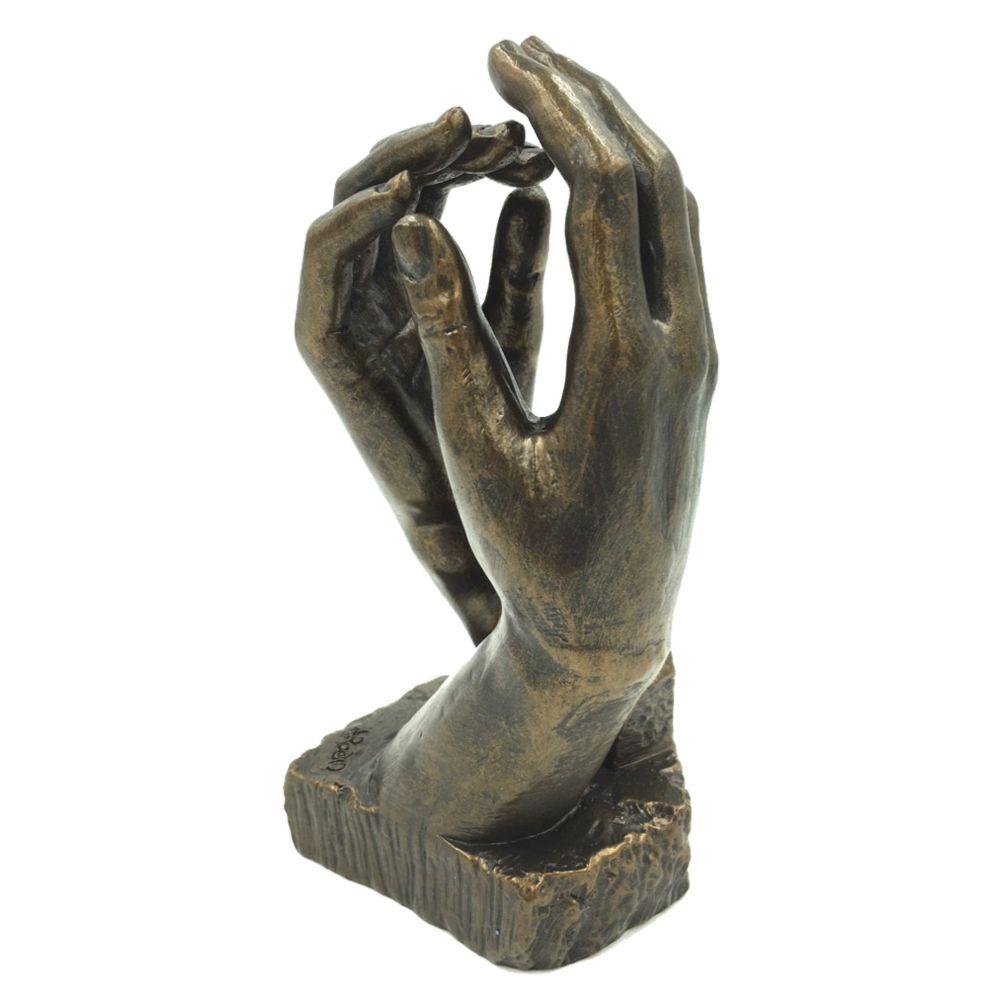 Figurine la cathédrale de Rodin H17cm