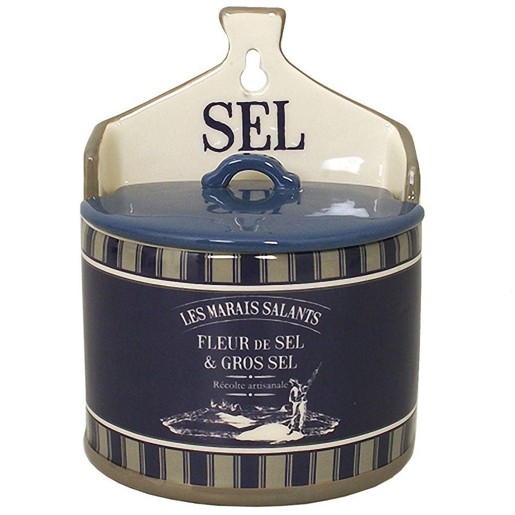 Boite à gros sel en céramique