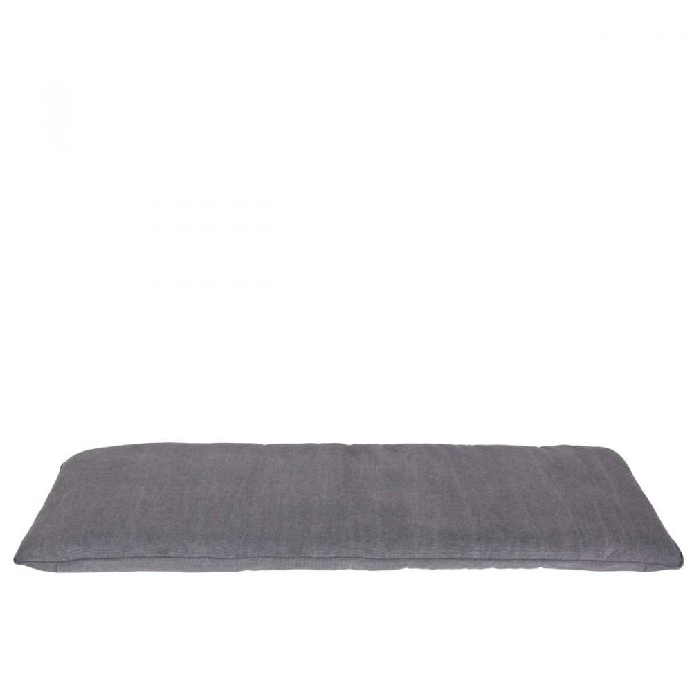 Coussin pour banc gris
