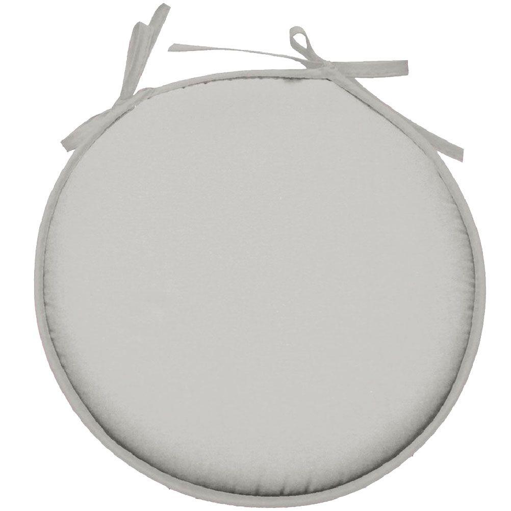Galette de chaise polyester mastic D40cm