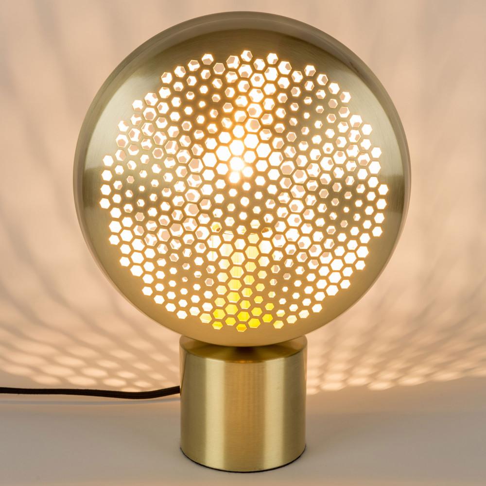 Lampe à poser métal laiton