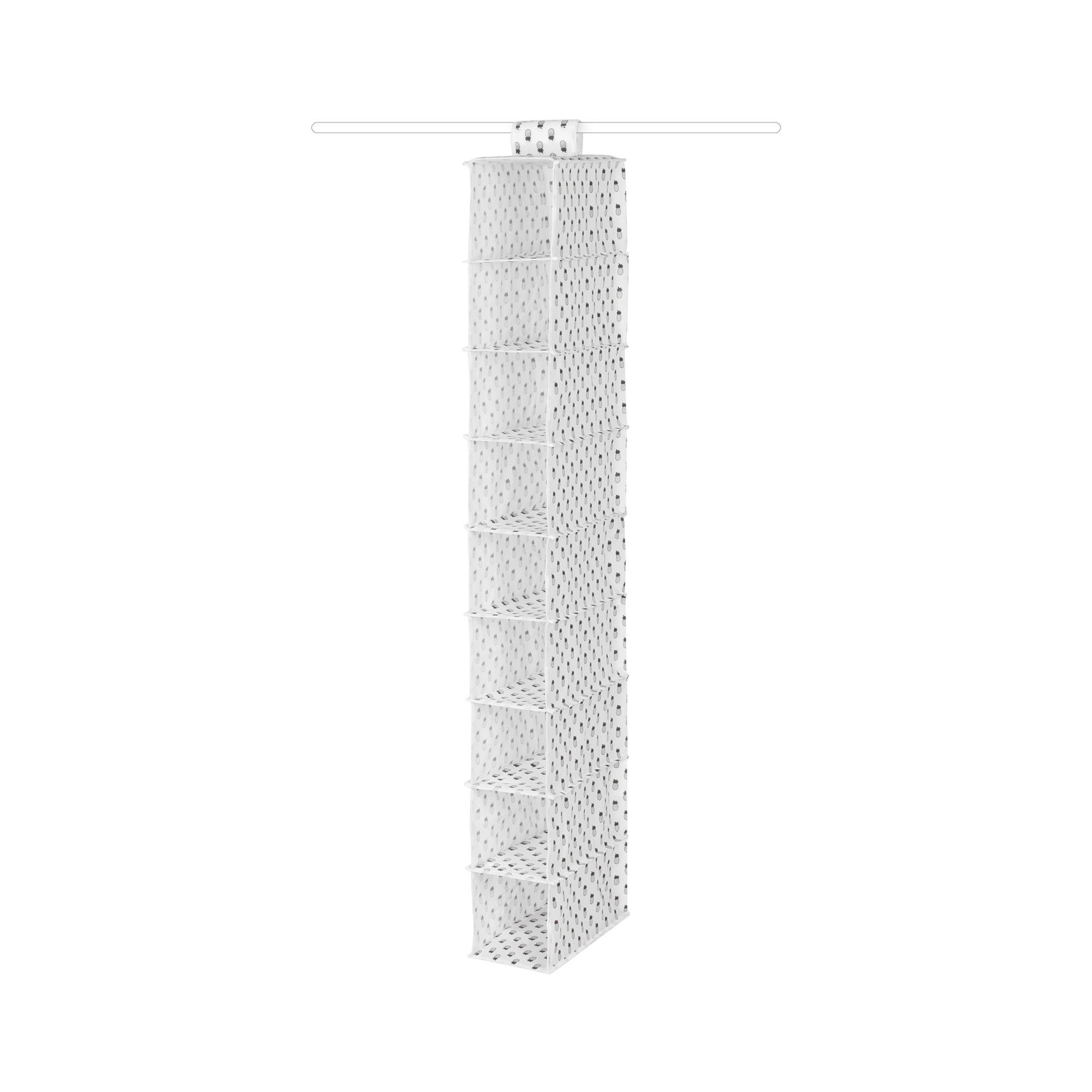 Étagère à suspendre 9 compartiments H128cm