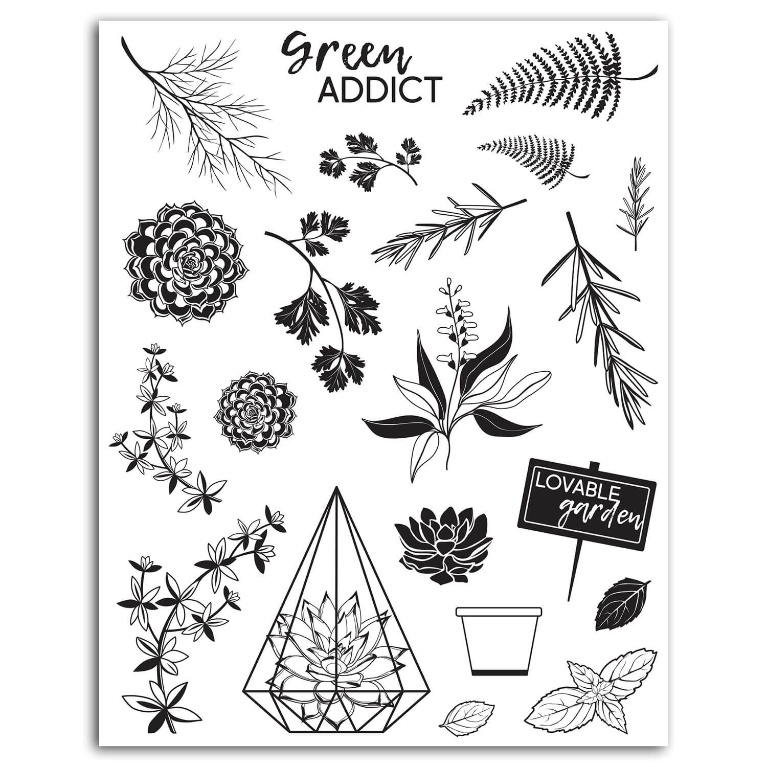 20 tampons Crystal® Oh my Green