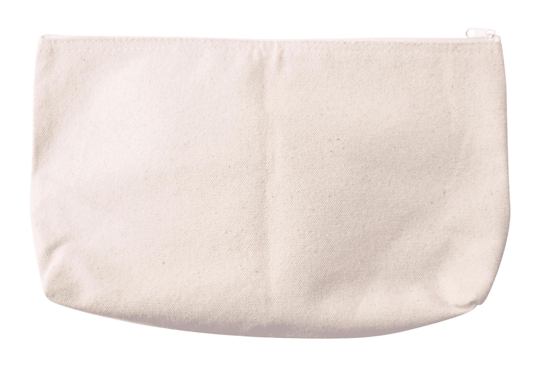 Trousse en coton à décorer 19x29cm