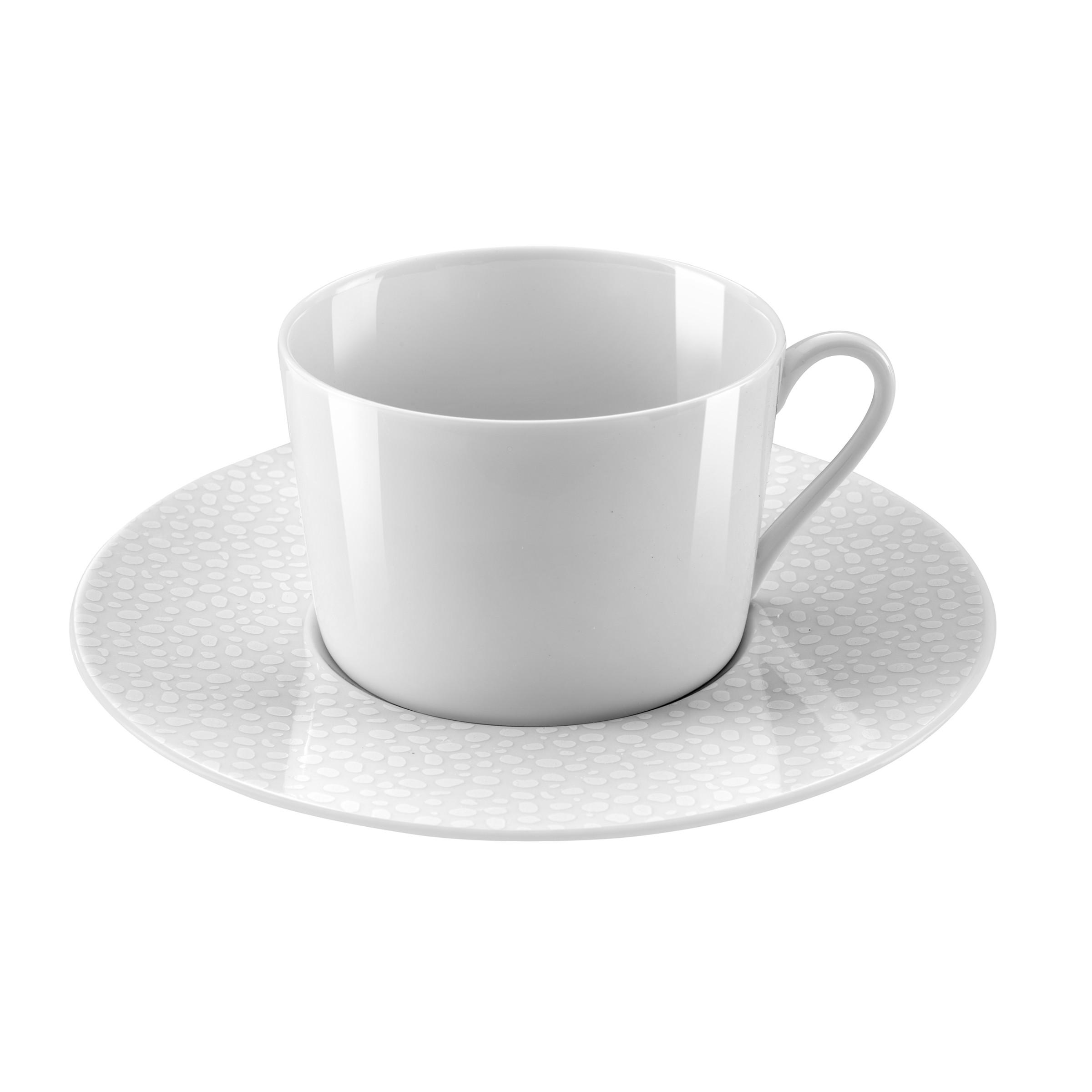 Coffret 6 tasses et soucoupes thé