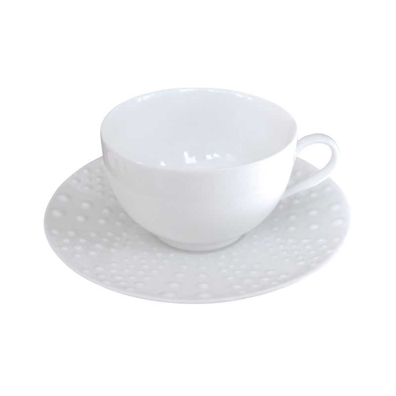 Coffret 6 tasses et soucoupes café