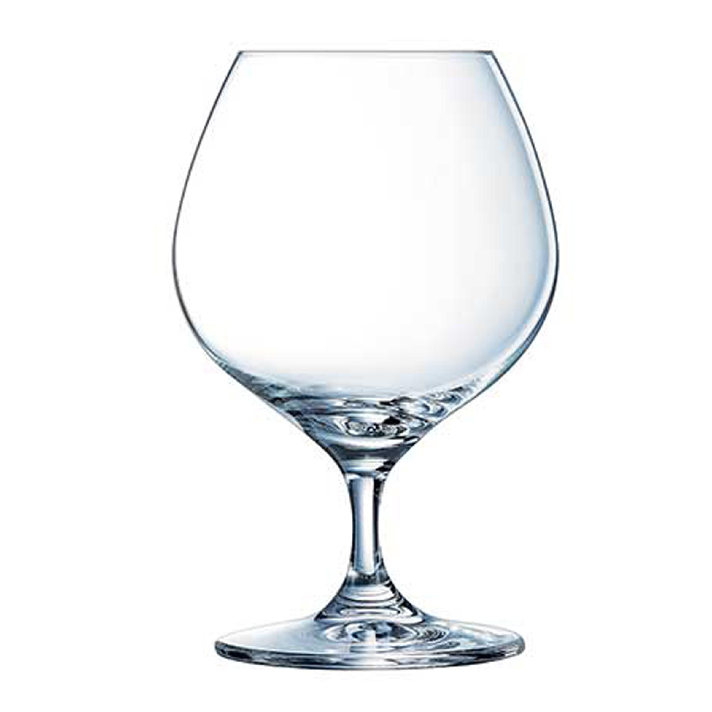 6 verres à cognac 40cl