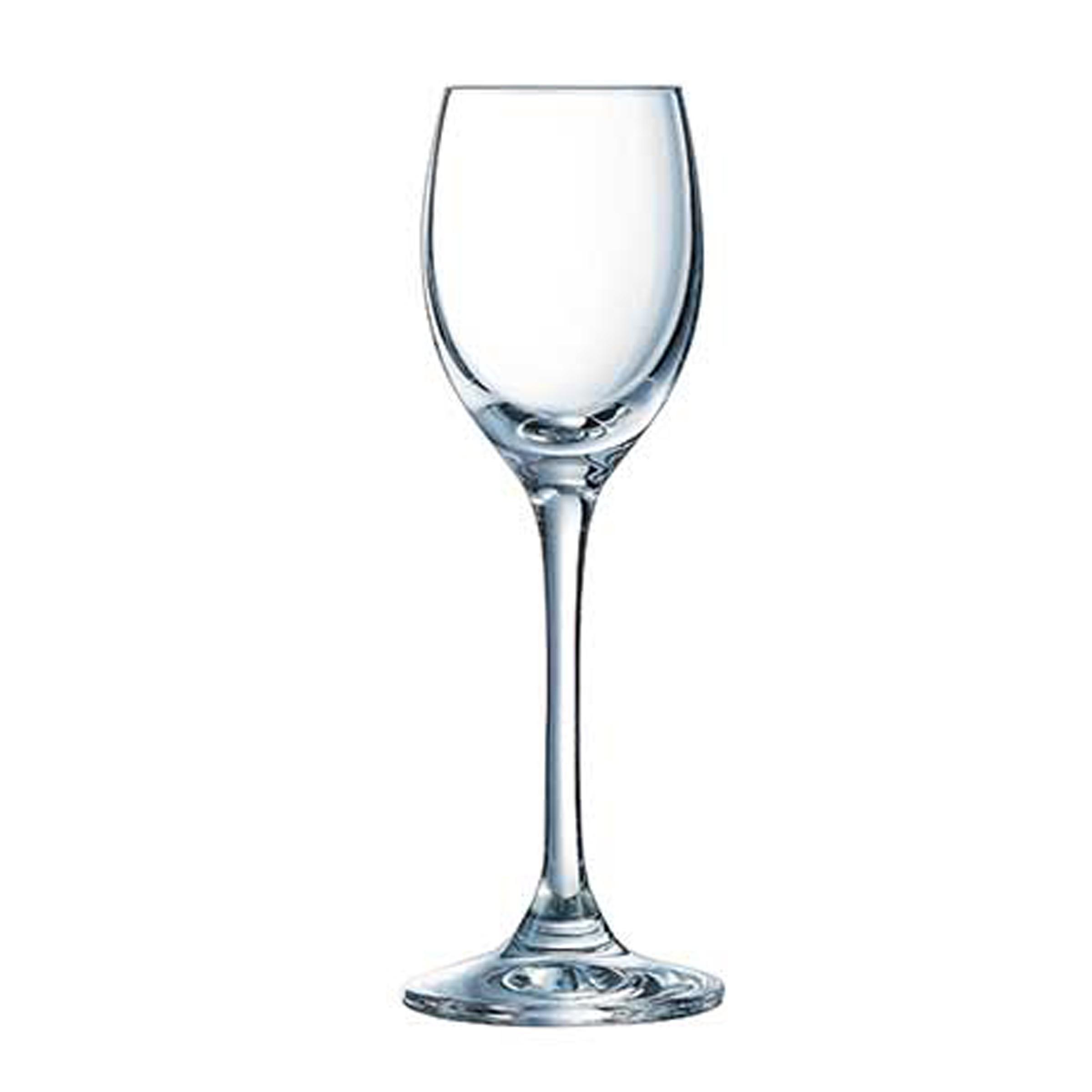 6 verres à liqueur 6.5cl