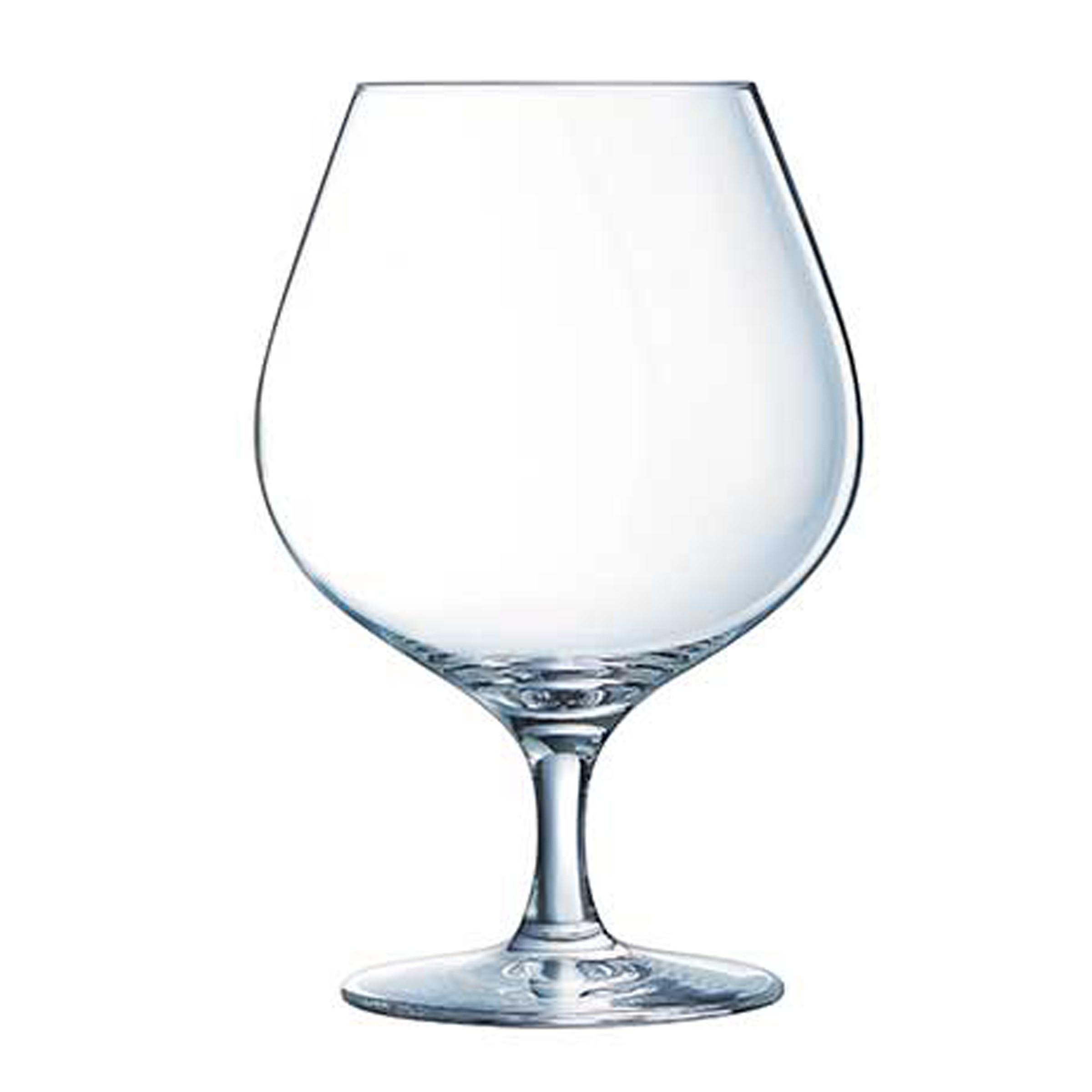 6 verres à cognac 70cl