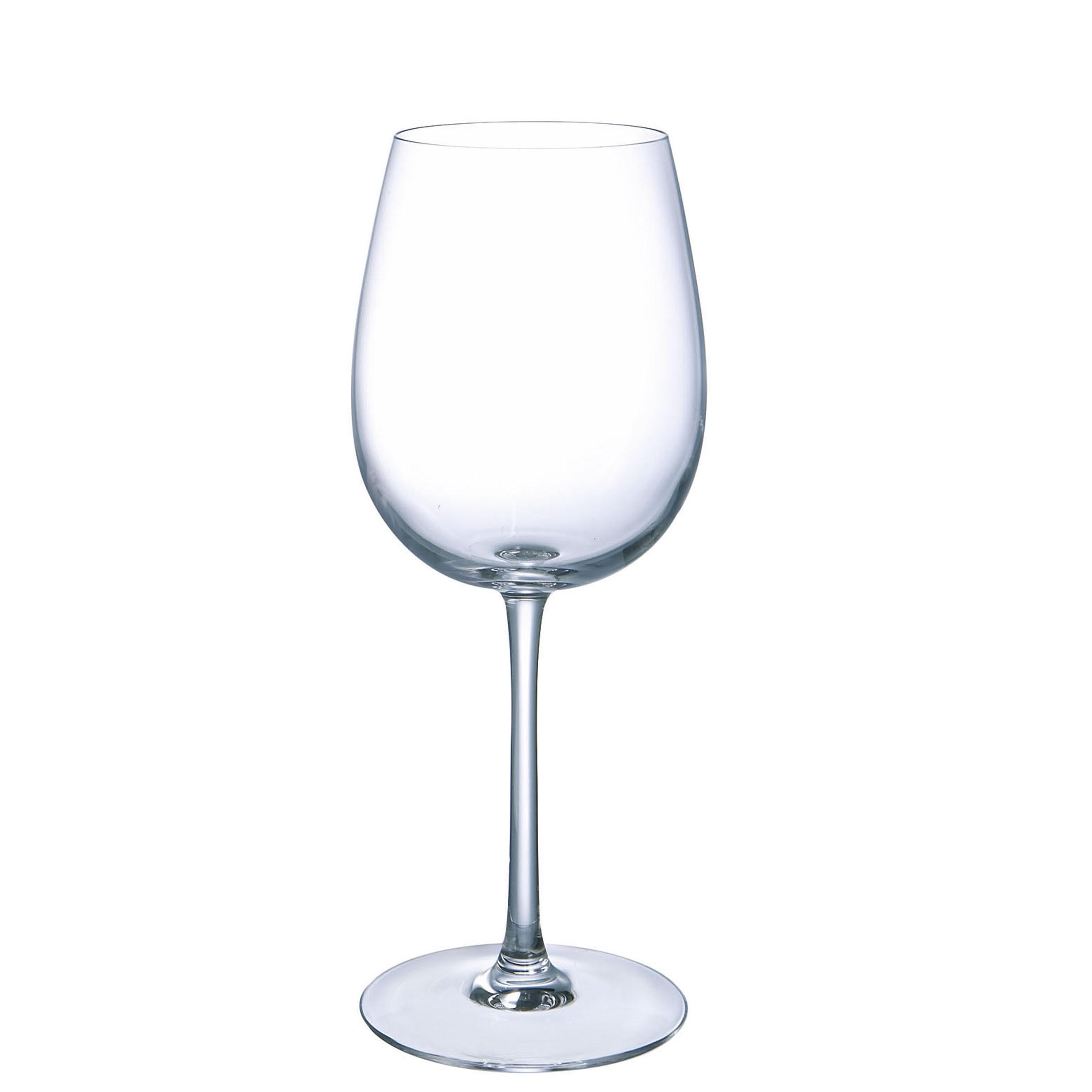 6 verres à pied 35 cl