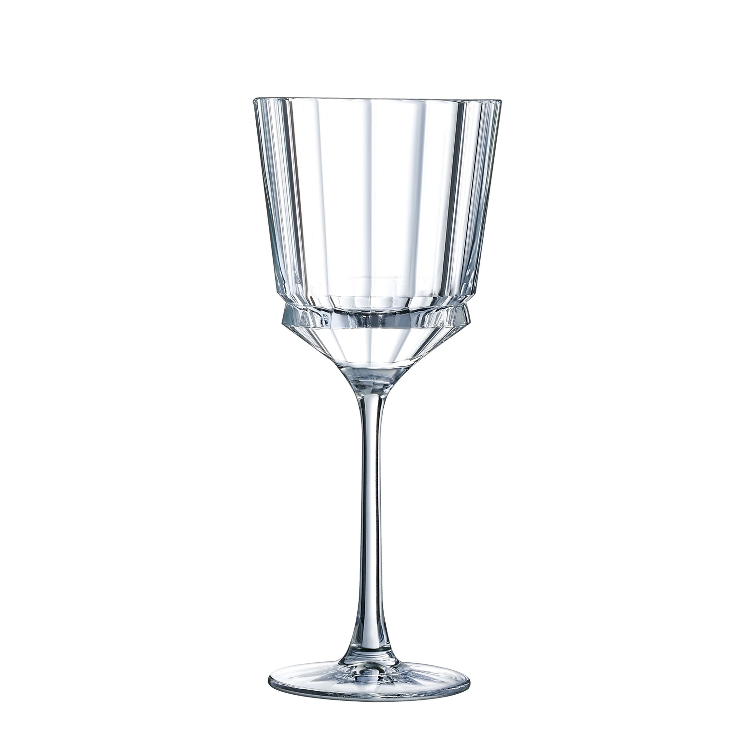 6 verres à pied 25 cl