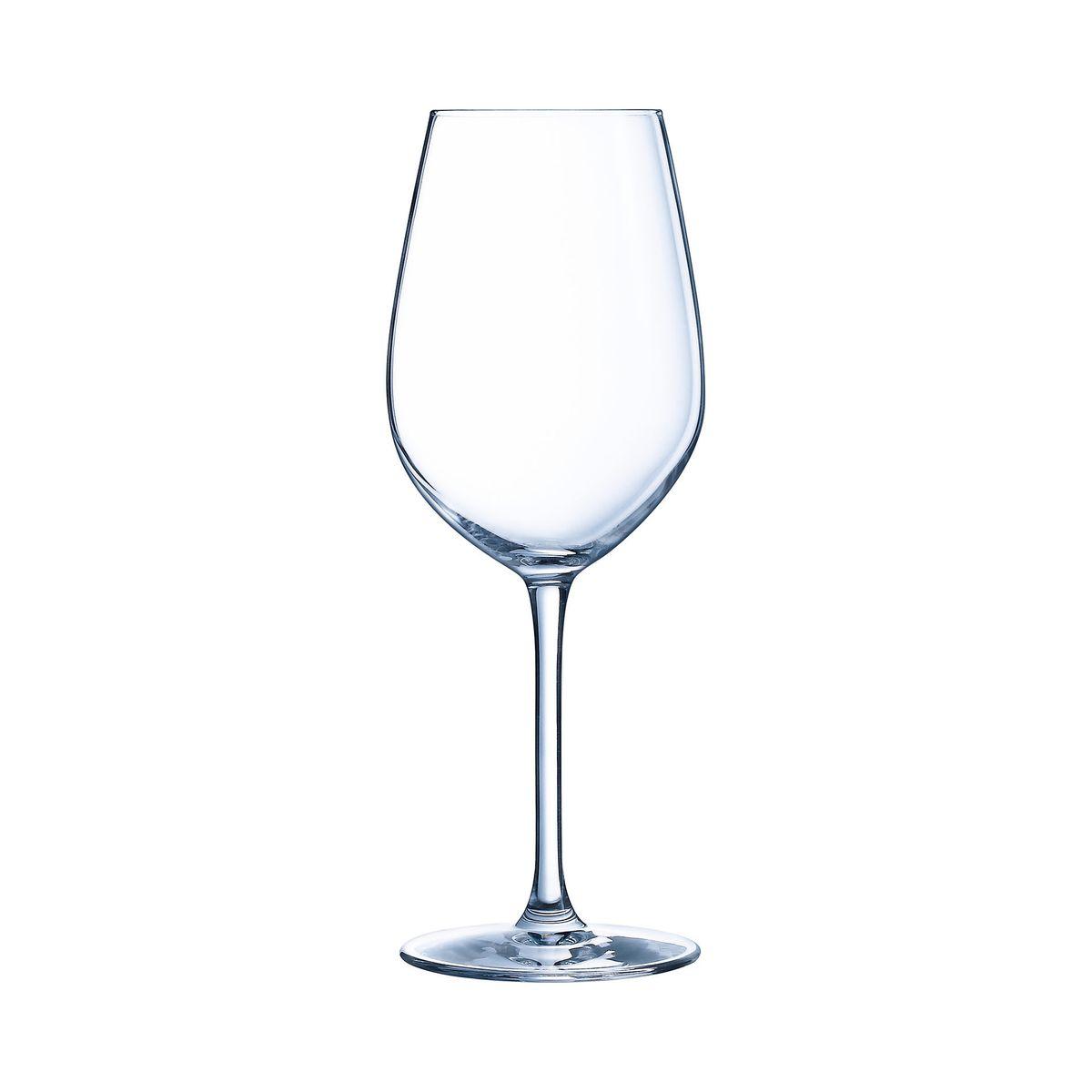 6 verres à pied 53 cl