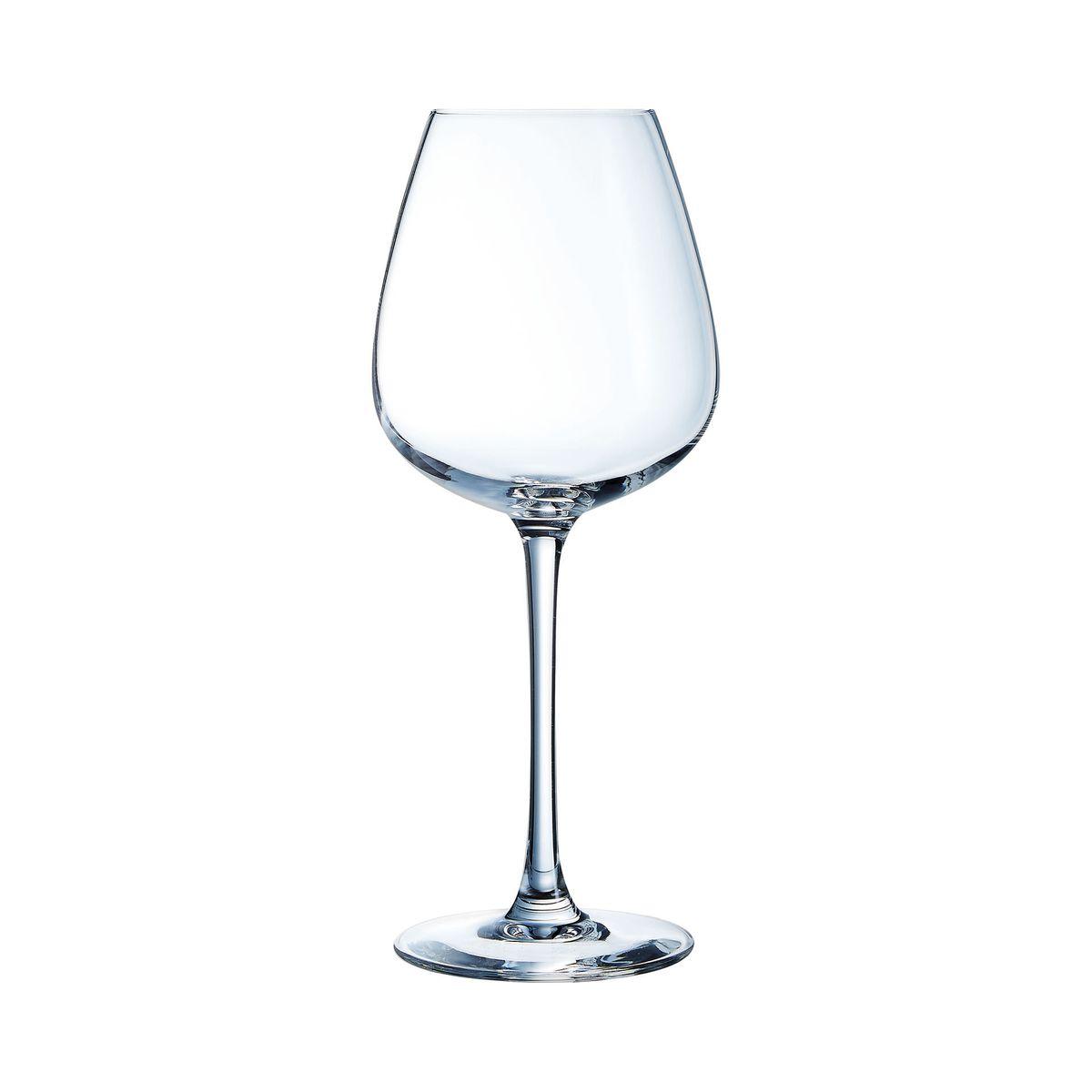 6 verres à pied 47cl