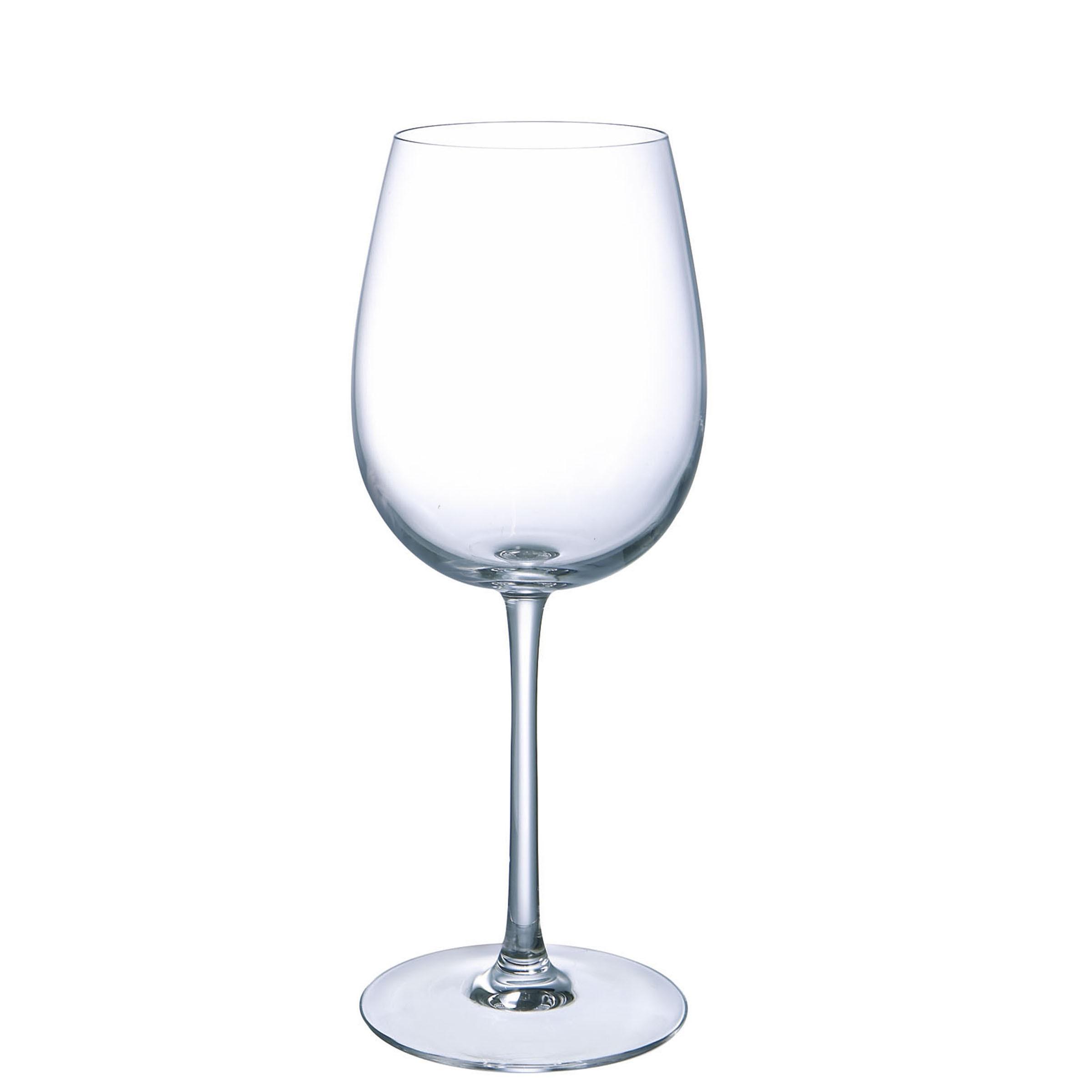 6 verres à pied 45 cl