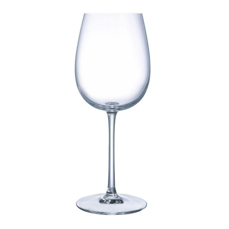 6 verres à pied 55 cl