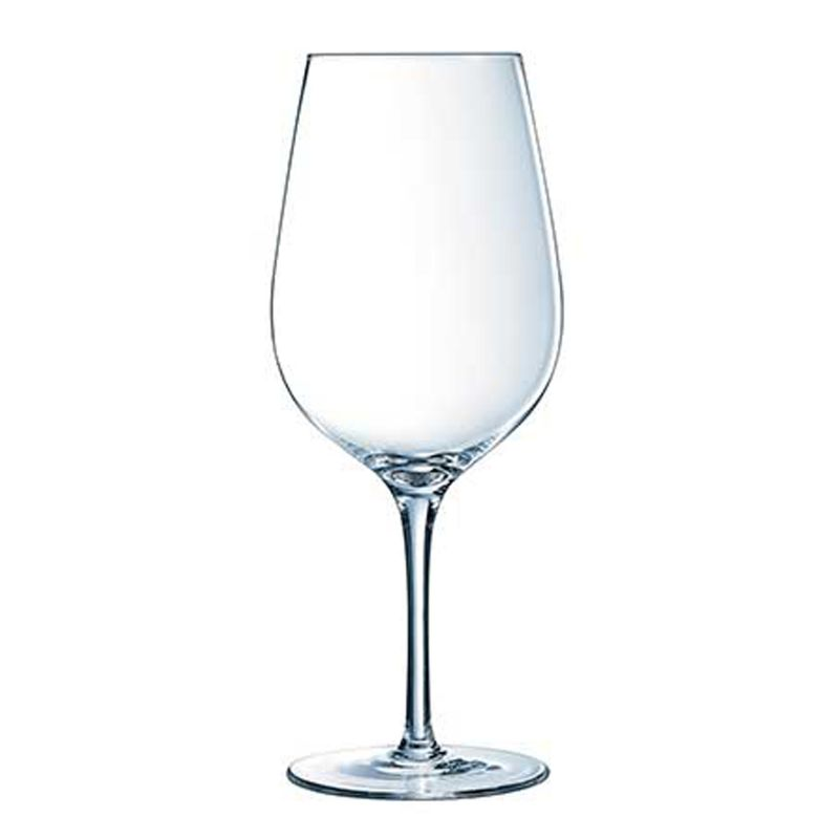 6 verres à pied Bordeaux 62cl