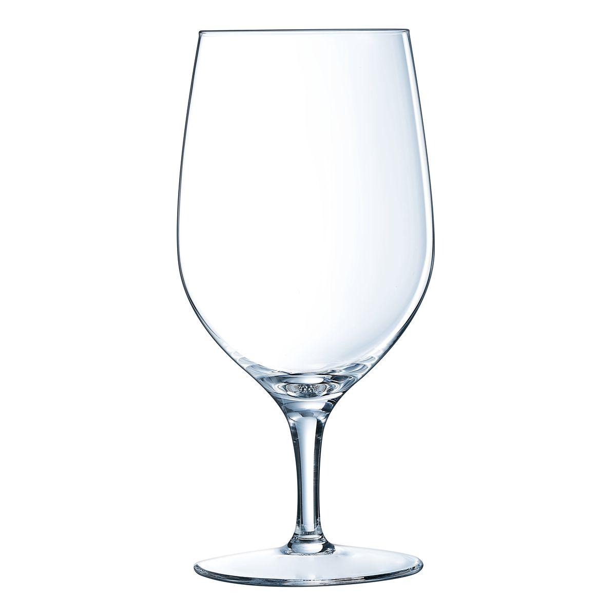 6 verres à pied multi-usages 47cl