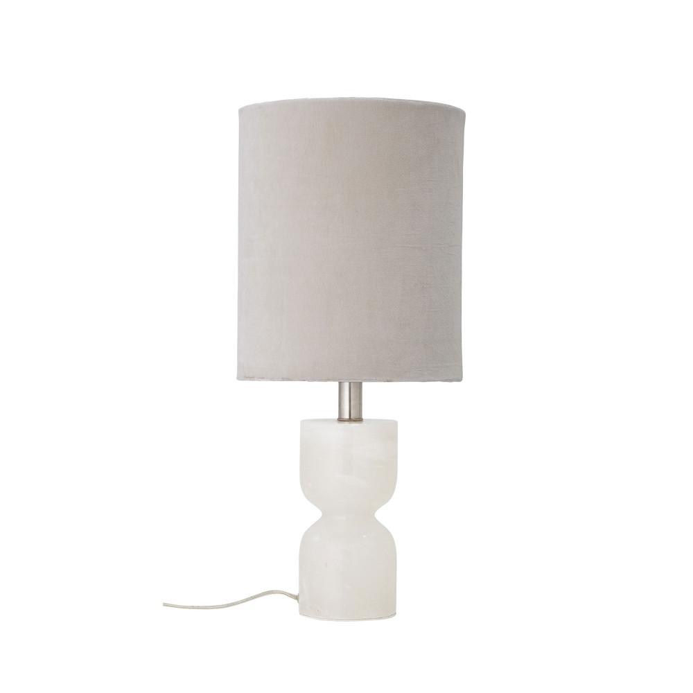 Lampe à poser en albâtre naturel
