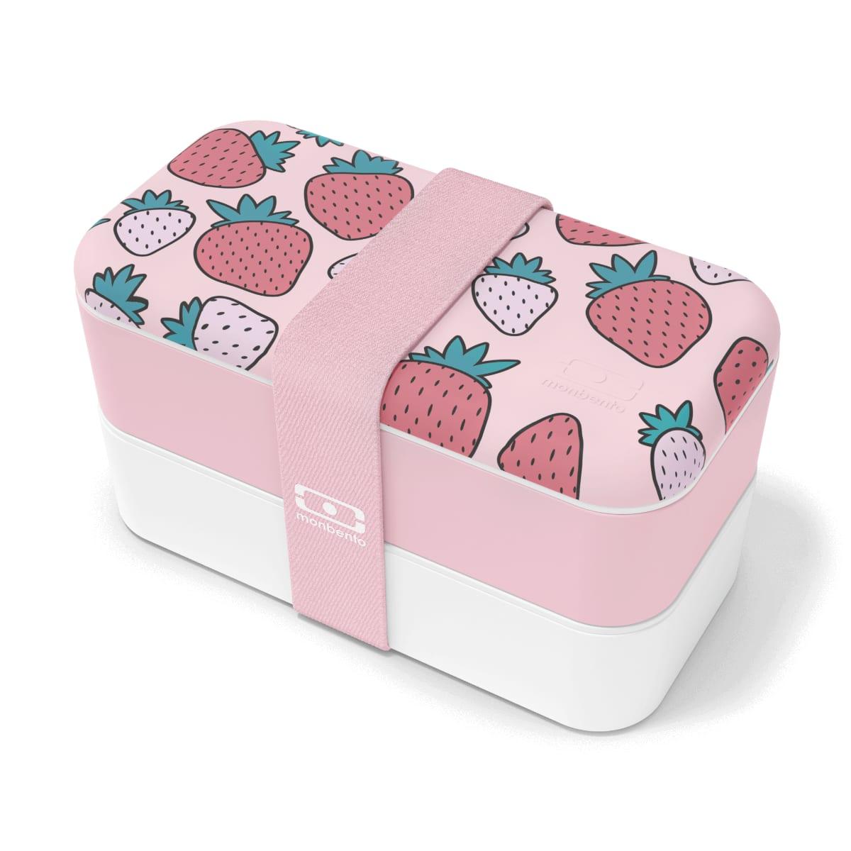 Bento graphic strawberry 1L