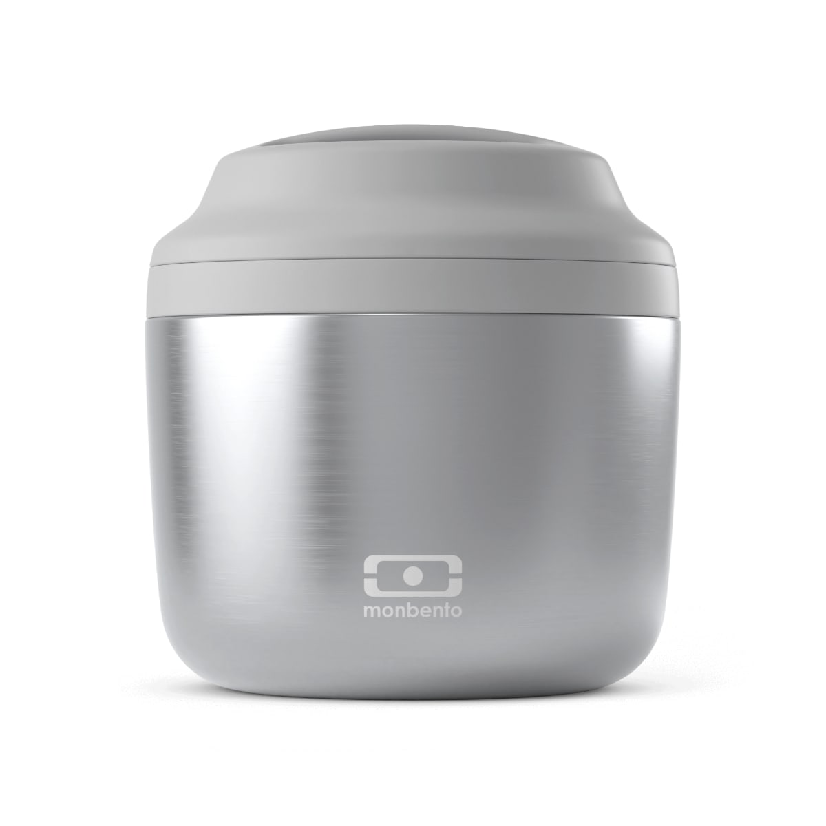 Lunch box isotherme metallic silver 0,55L