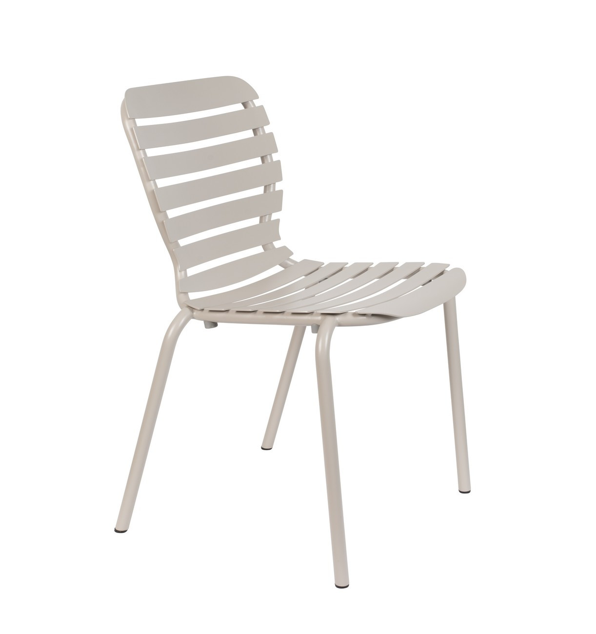 Chaise de jardin en aluminium Argile