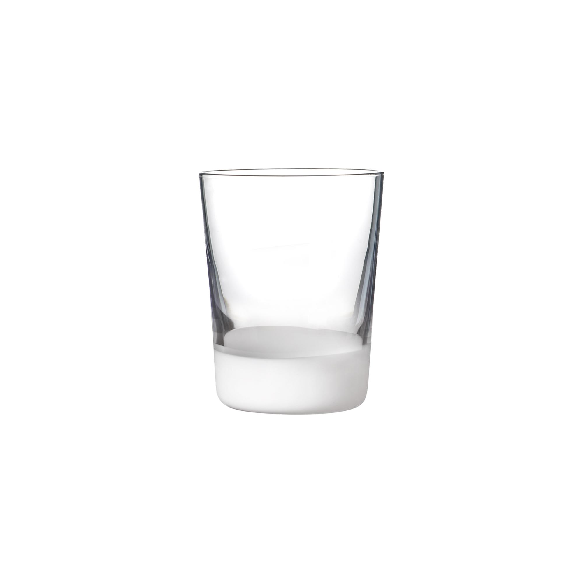 Gobelet en verre soufflé bouche blanc 39 cl - Lot de 6