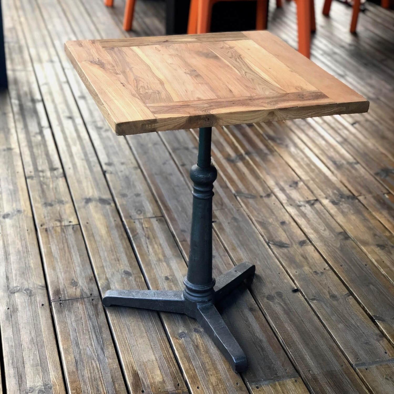 Table repas bois massif 60 cm