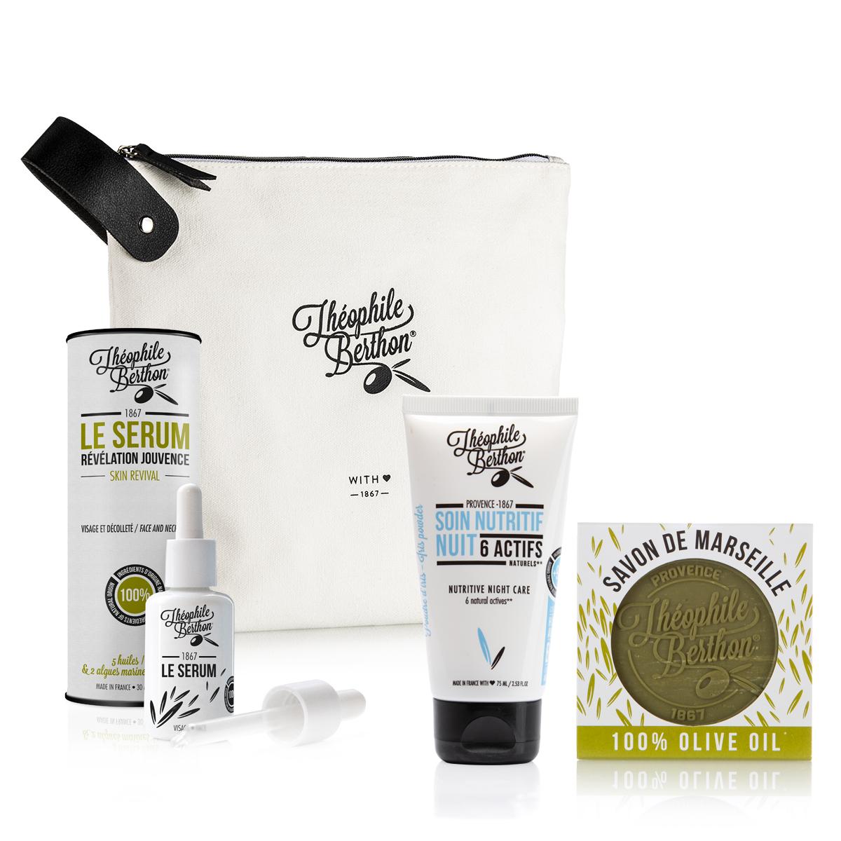 Trousse 2 soins visage et savon pur olive