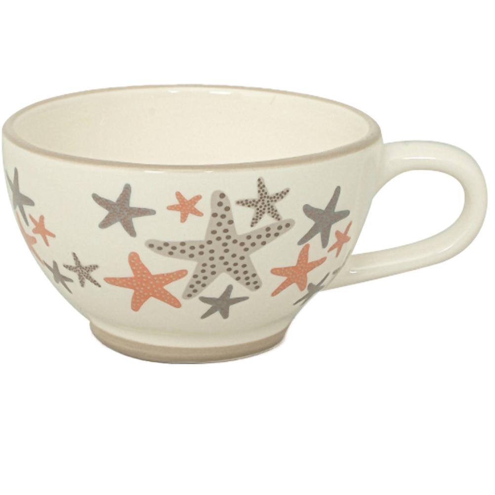 Petit bol en céramique étoiles de mer 25cl