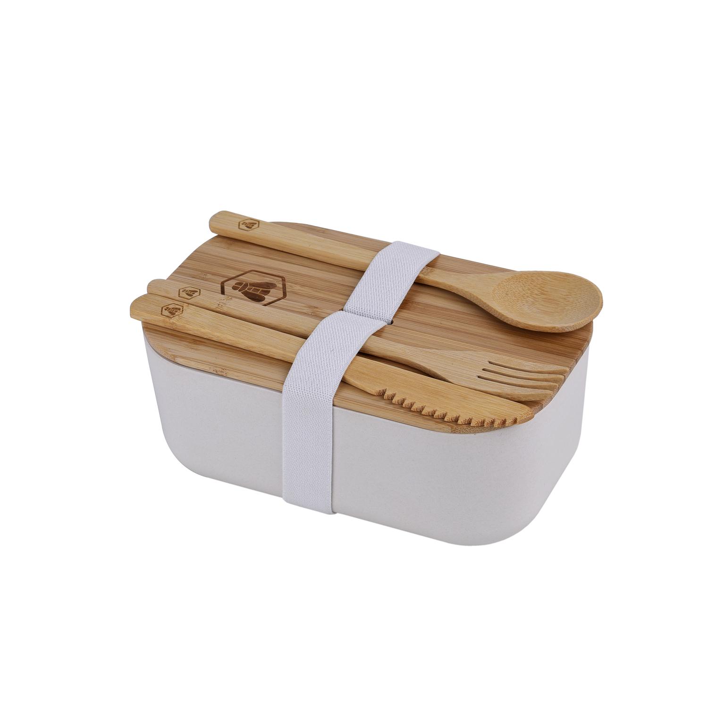 Lunchbox avec couverts